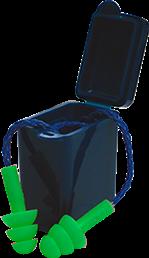 Tapón Auditivo De Inserción PVC Reflex En Caja o Bolsa