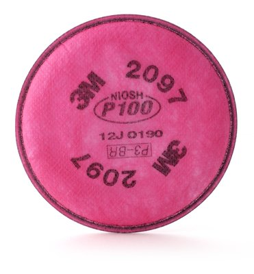 Filtro para partículas P100 para Ozono y Vapores Orgánicos 2097 3M