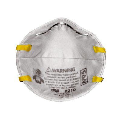Respirador desechable para partículas N95 8210 3M