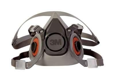Respiradores de Media Pieza Facial Serie 6000 3M